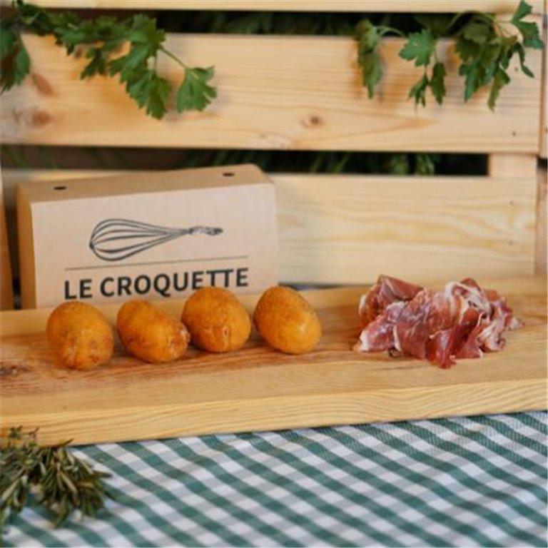 Croquetas ultracongeladas jamón ibérico, 500 gr
