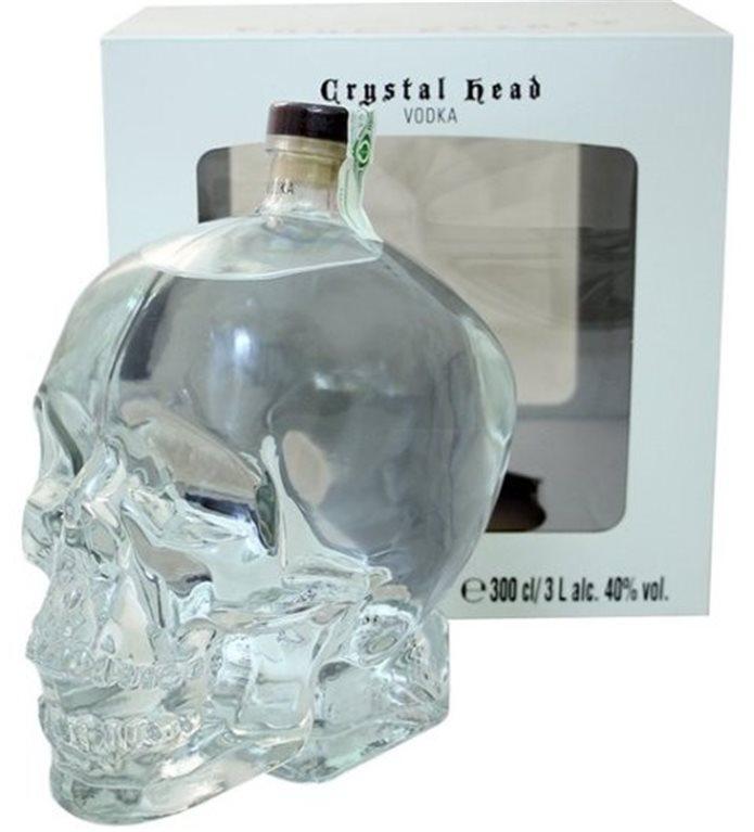 Crystal Head Vodka 3 litros, 6 ud