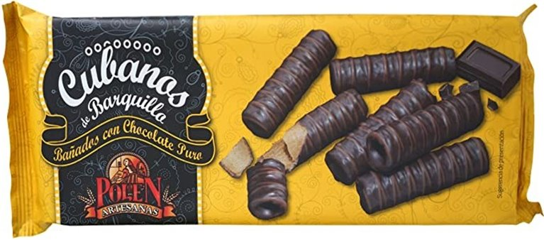 Cubanitos Chocolate Polen