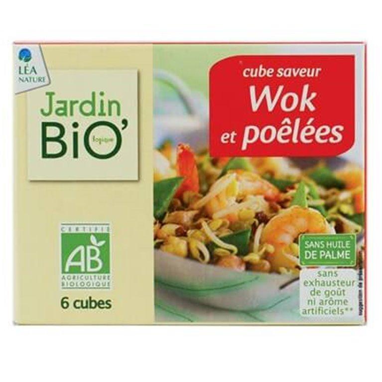 Cubitos para wok, 100 gr