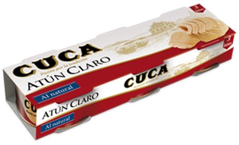 Cuca - Atún al natural (3 latas), 1 ud