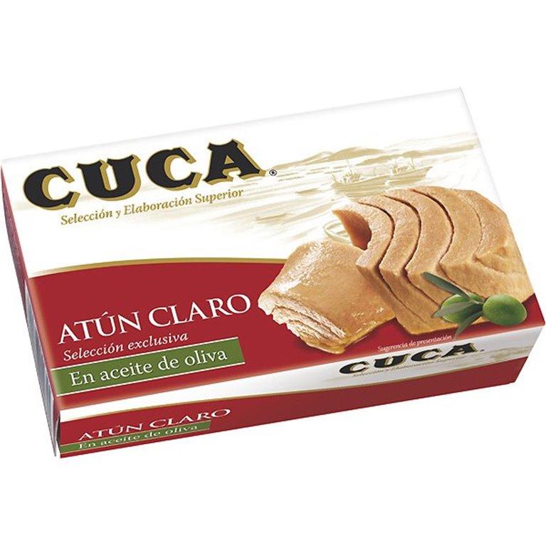 Cuca - Atún claro en aceite de oliva (3 latas), 1 ud