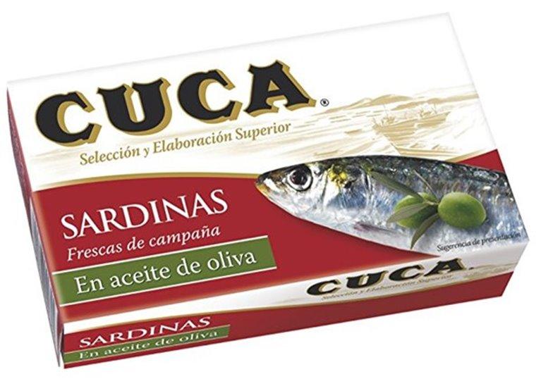 Cuca - Sardinas en aceite de oliva (120 gr)
