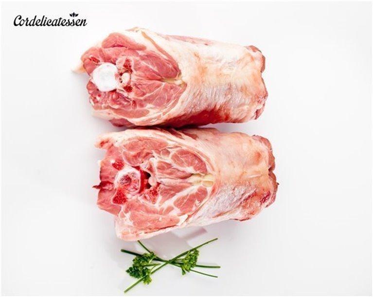 Cuellos de lechal para guisar, 1 kg
