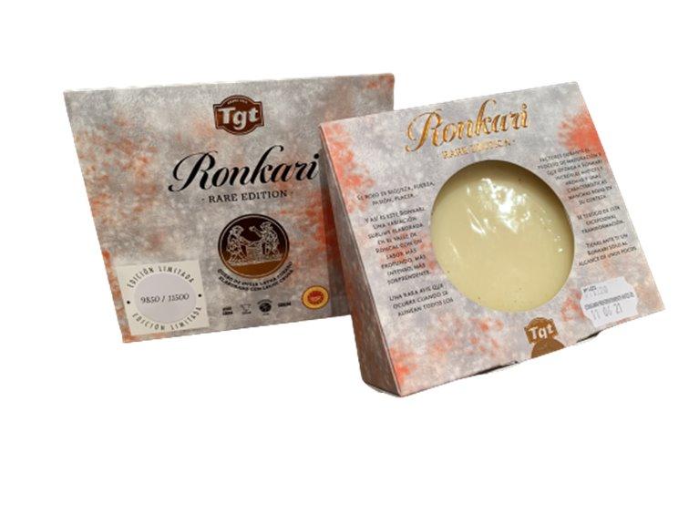 Cuña de Queso Curado de Oveja Latxa Ronkari -Rare Edition- 200 grs.