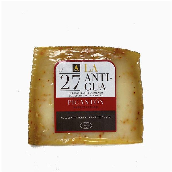 Cuña de queso curado picantón La Antigua