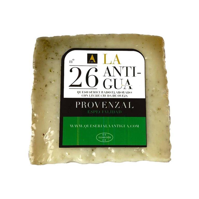 Cuña de queso curado Provenzal La Antigua