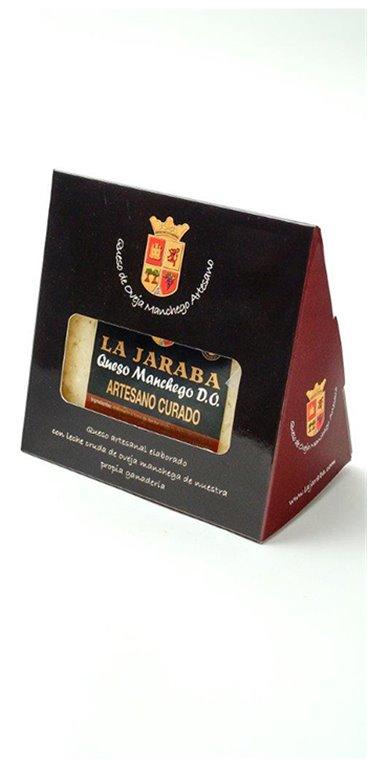 Cuña Queso Manchego Artesano D.O. Curado La Jaraba