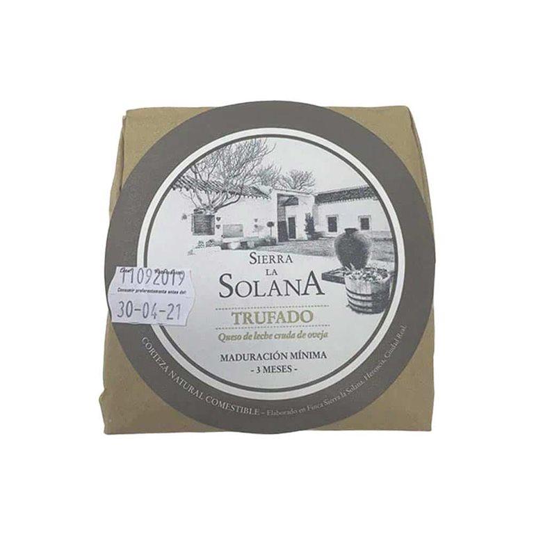 Truffled wedge 250 g Sierra de la Solana