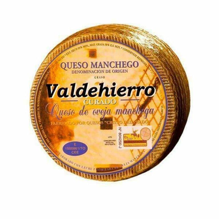 Curado de Valdehierro grande (3,2 Kg aprox.)