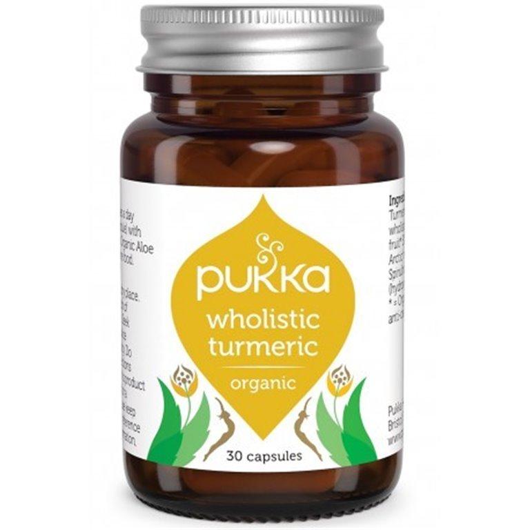 Curcuma Wholistic 30 Cap, 1 ud