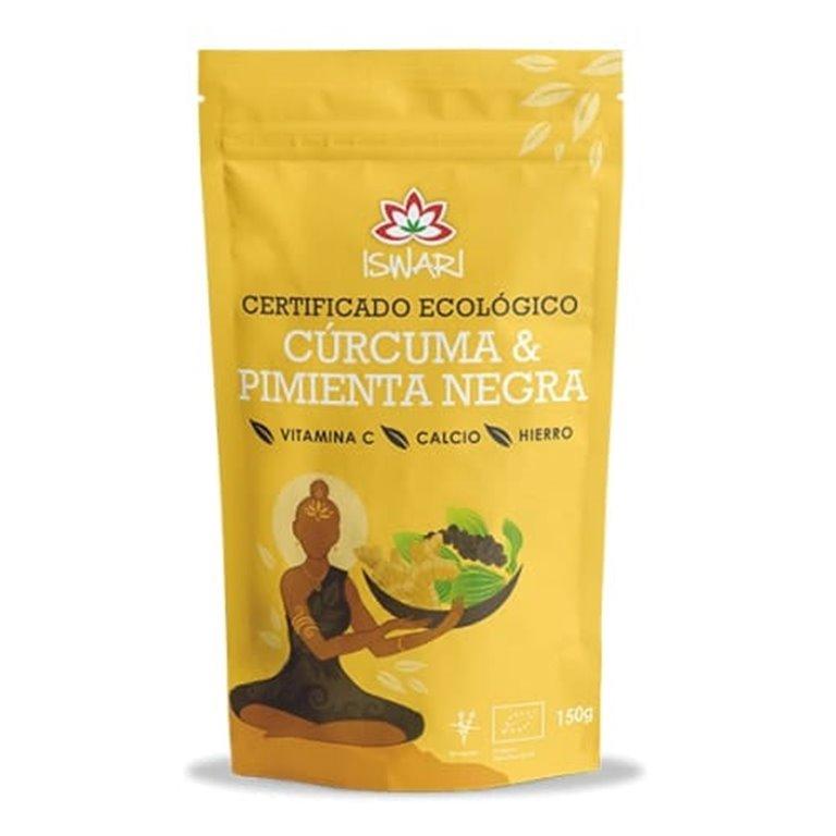 Cúrcuma y Pimienta Negra Bio 150g