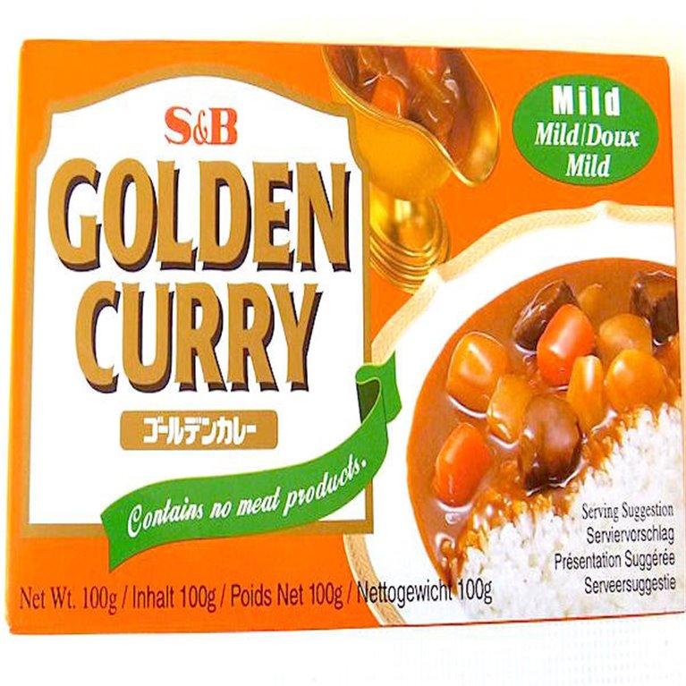 Curry japonés medio S&B