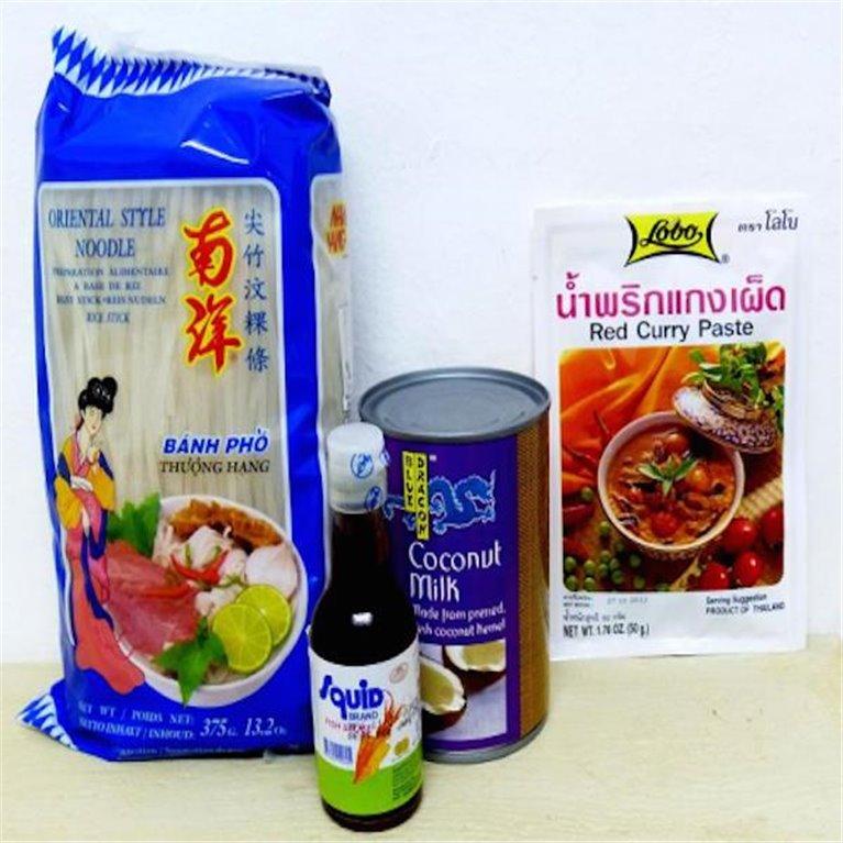 Curry rojo thai para 4