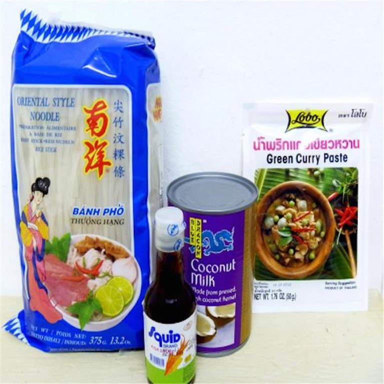 Curry verde thai para 4