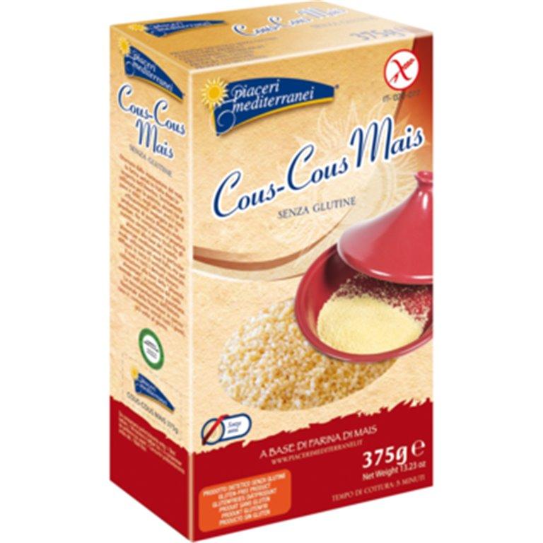 Cuscús de Maíz Sin Gluten 375g, 1 ud