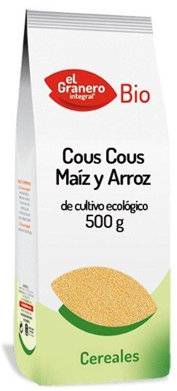Cuscús de Maíz y Arroz Bio 500g