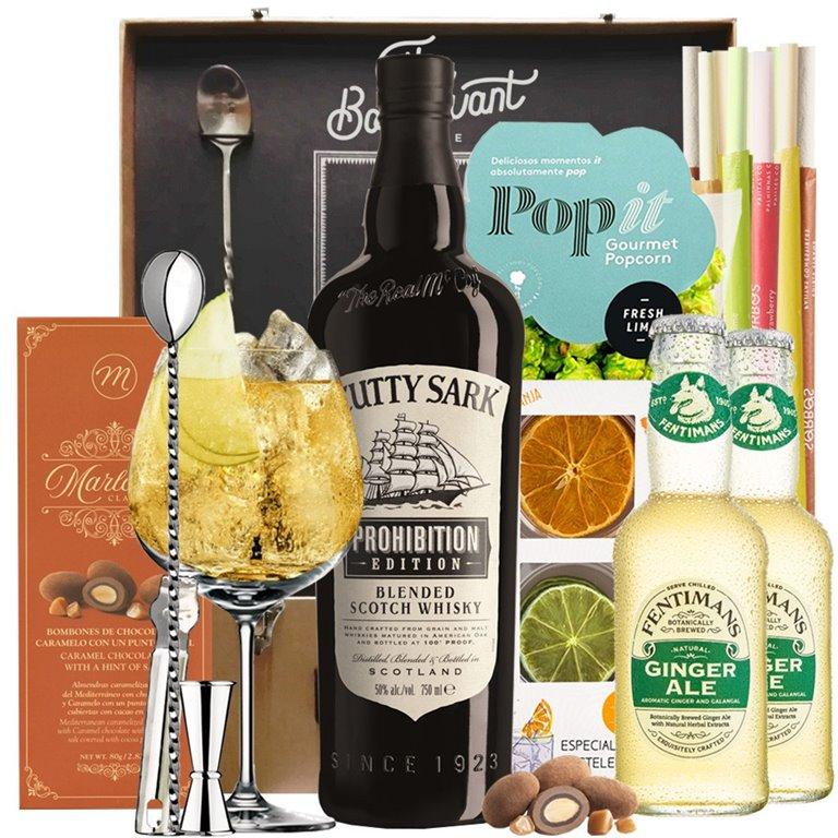 Cutty Sark Prohibition Gift Box