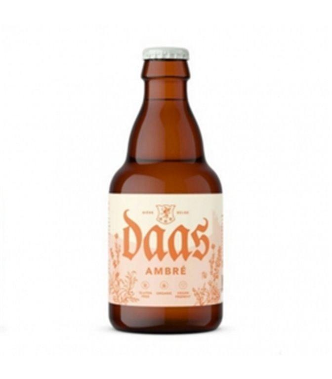 Daas Ambré 330ml. Brasserie 1096 Originale. 24un.
