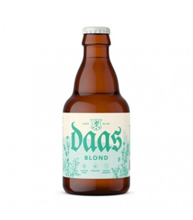 Daas Blonde 330ml. Brasserie 1096 Originale. 24un.