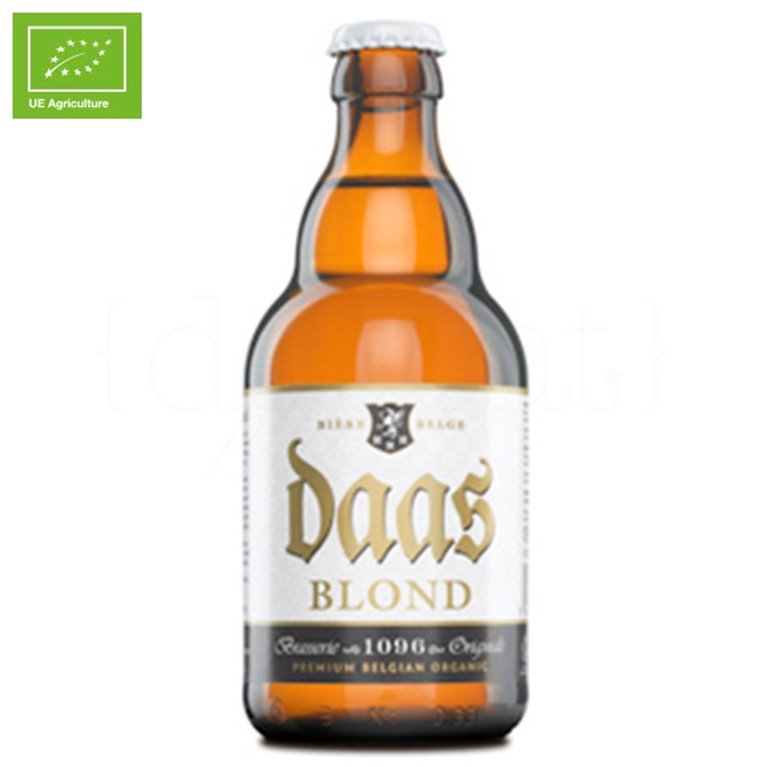 Daas Blonde 330ml. Brasserie 1096 Originale. 24un., 1 ud