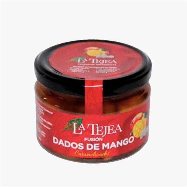 Caramelized mango cubes 270 g La Tejea
