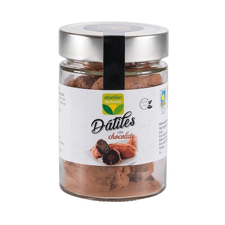 Dátil medjoul con chocolate