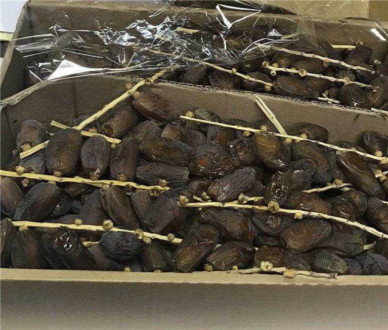 Dátil Natural Rama Israel Deglet Nour caja de 5kg, 1 ud