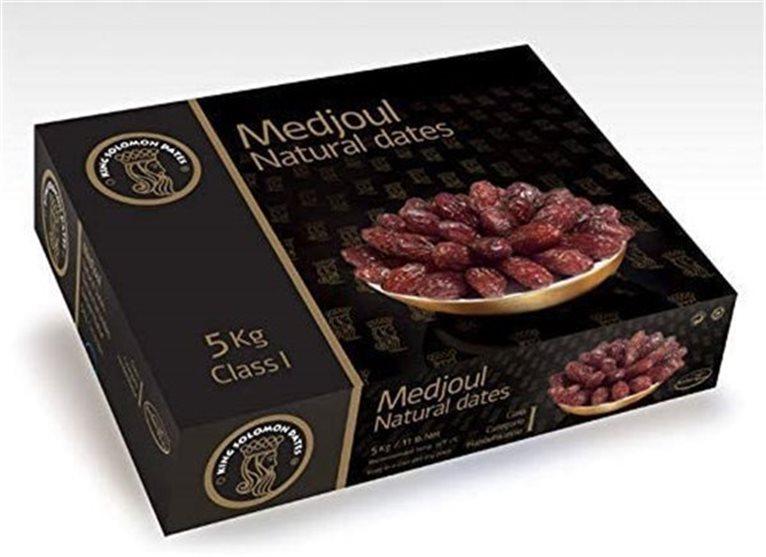Dátiles Natural Medjoul King Solomon Dates - Caja 5 kg