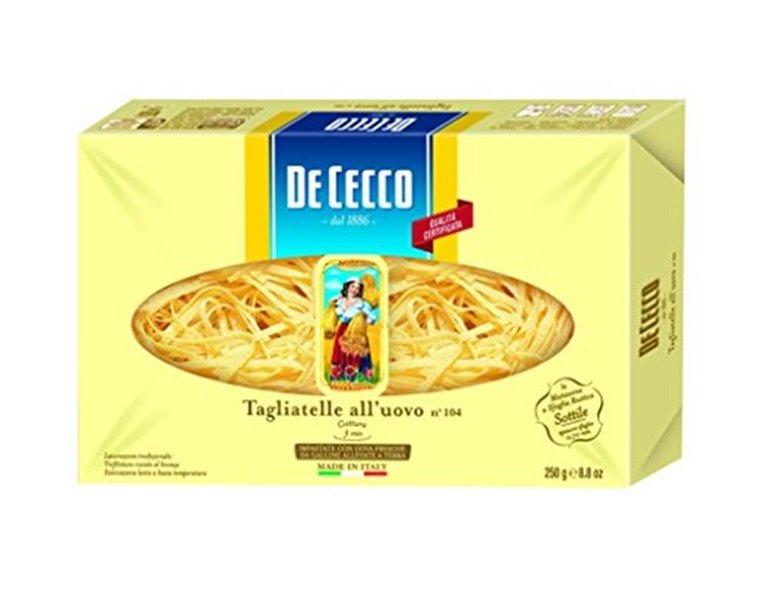 DE CECCO Tagliatelle all 'uovo nº 101 (500 gr), 1 ud