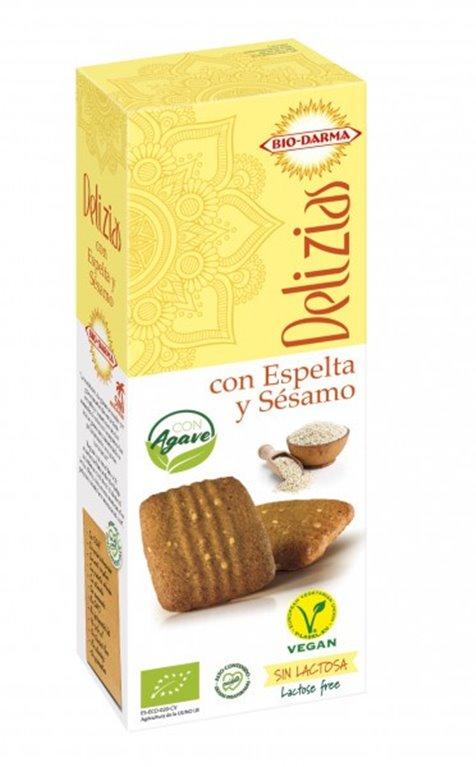 Delicias de Espelta con Sésamo (Sin Azúcar) Bio 125g