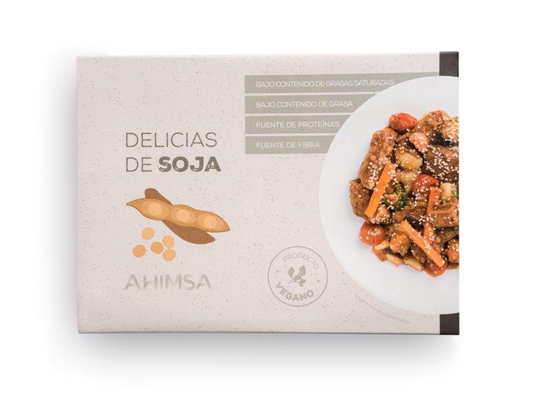 Delicias de Soja Ahimsa, 250 gr