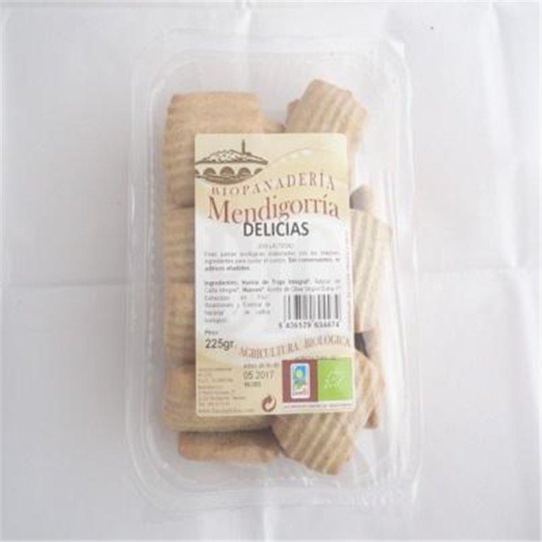Desayunos de Trigo Integral 225g Galletas Ecológicas Artesanas, 1 ud