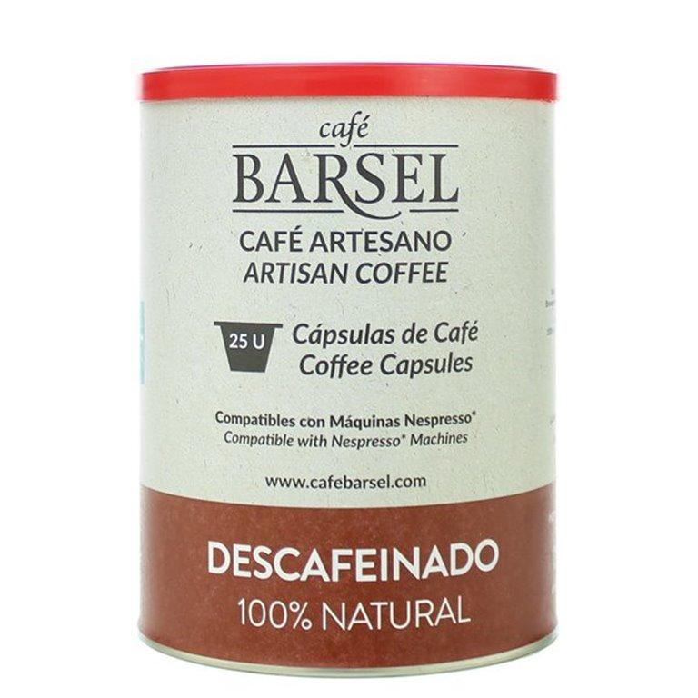 DESCAFEINADO - Cápsulas compatibles Nespresso®, 25 ud