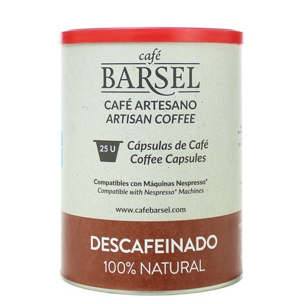 DESCAFEINADO - Cápsulas compatibles Nespresso®
