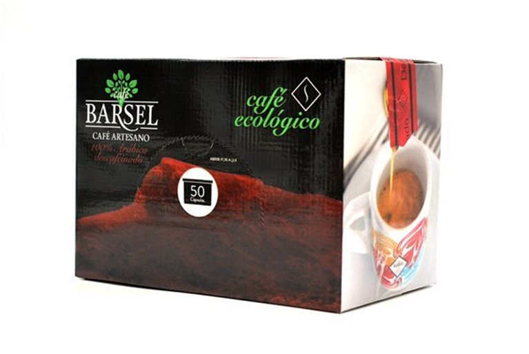 Descafeinado ECOLÓGICO - Cápsulas Espresso Point (FAP), 50 ud