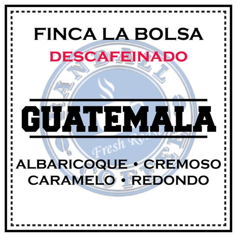 DESCAFEINADO Finca La Bolsa – Guatemala
