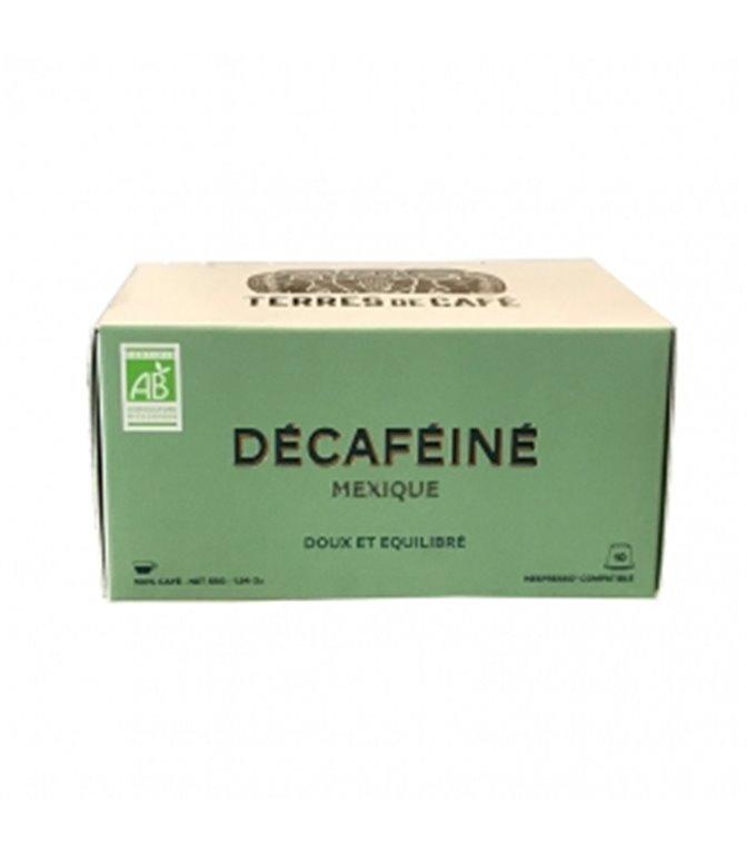 Descafeinado Mezcla de Cafés Origenes BIO (10 Cápsulas). Terres de Cáfe. 15ud