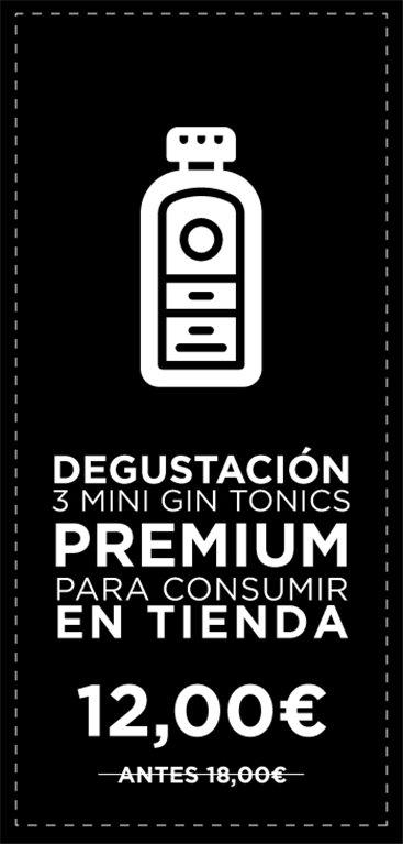 Desgustación Premium de Gin Tonic - Para Consumir en Tienda