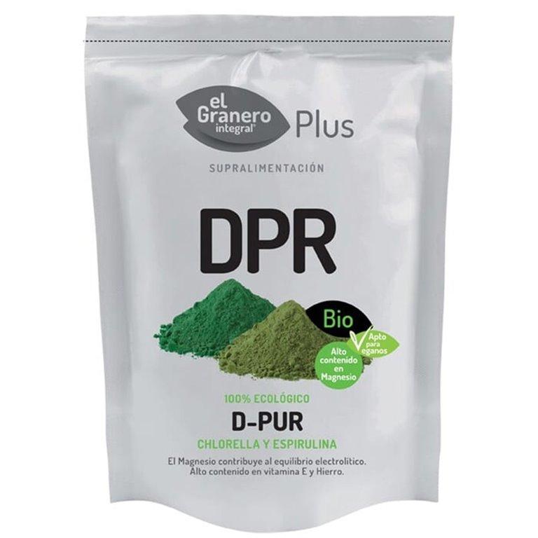 Detox DPR Chlorella Spirulina en Polvo Bio 200g