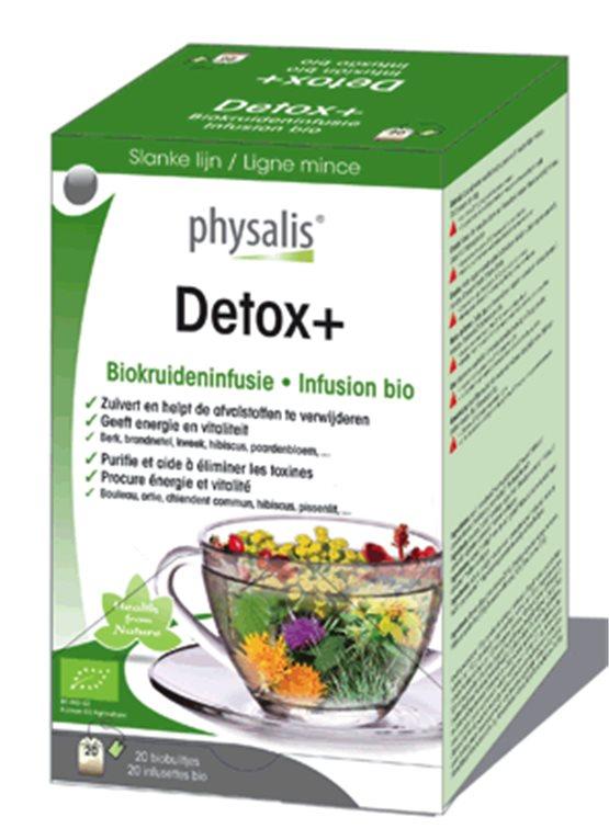 Detox infusión bio, 30 gr
