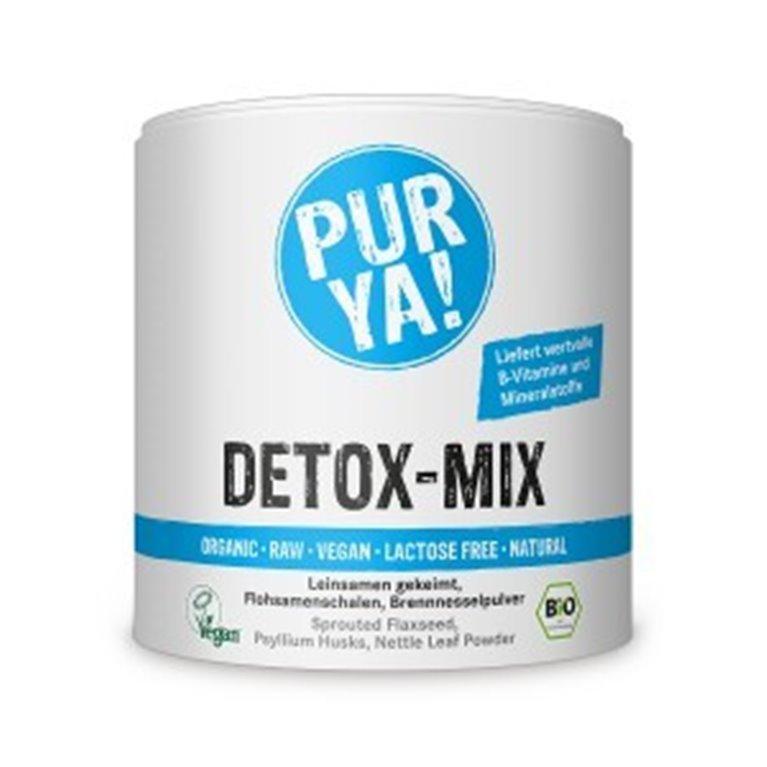 Detox Mix Ecológico, Vegano y Raw, 250 gr