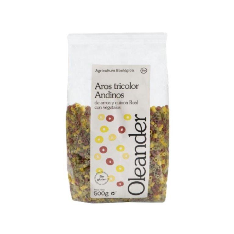 Ditalini de Quinoa Tricolor Bio 500g