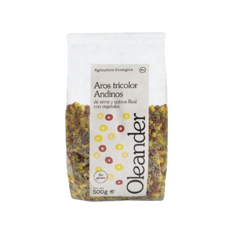 Ditalini de Quinoa Tricolor Sin Gluten Bio 500g