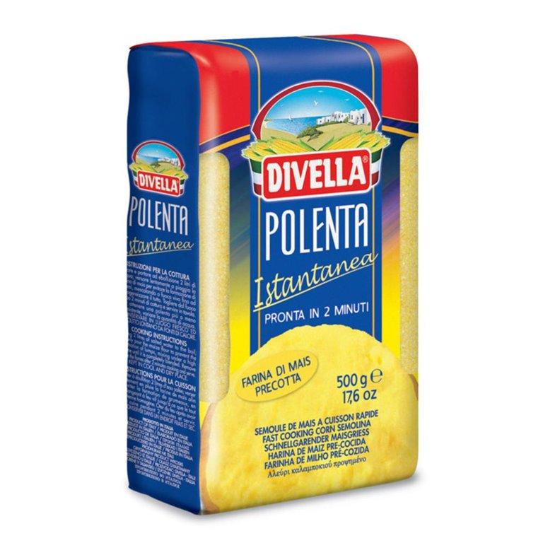 Divella harina de maíz instantanea, 1 ud