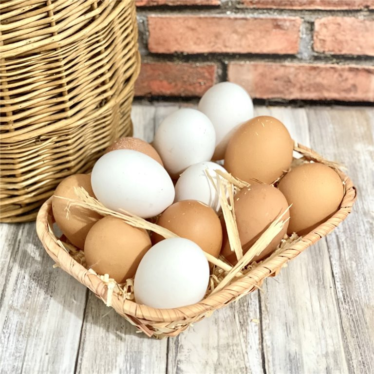 Docena de huevos camperos de Ávila