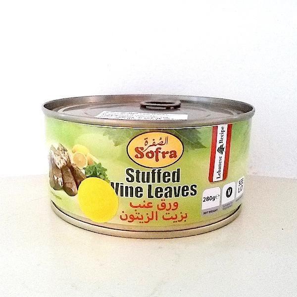 Dolmades rellenas en conserva 2kg