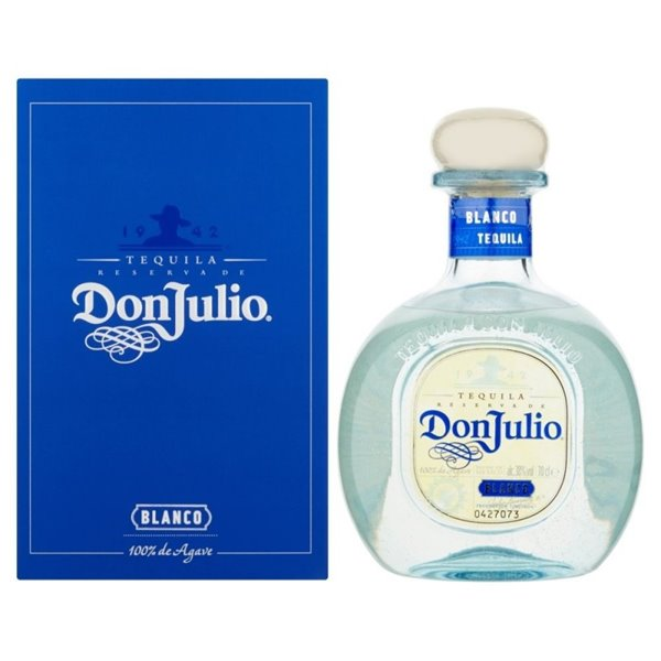 DON JULIO BLANCO 0,70 L. + ESTUCHE