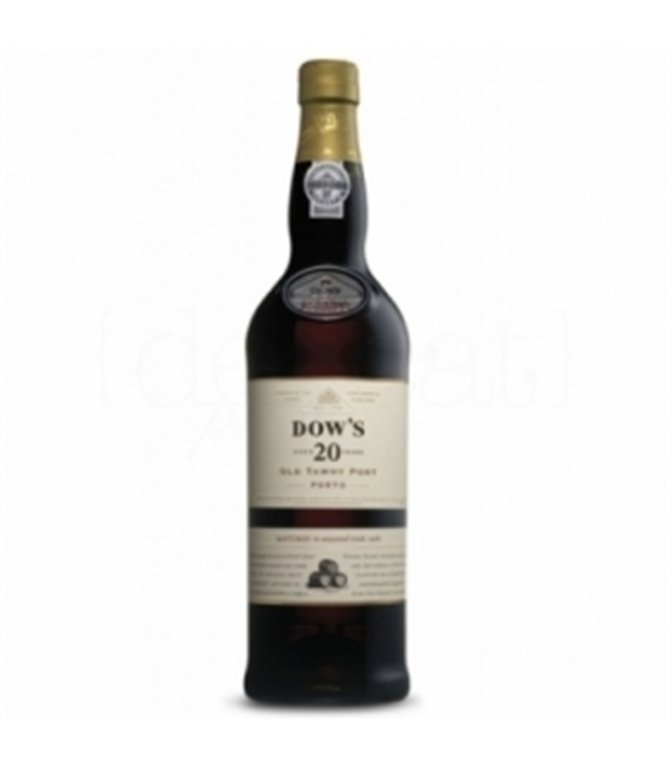 Dow's 20 Years Old Tawny Port 75cl. Porto Dow's. 3un.