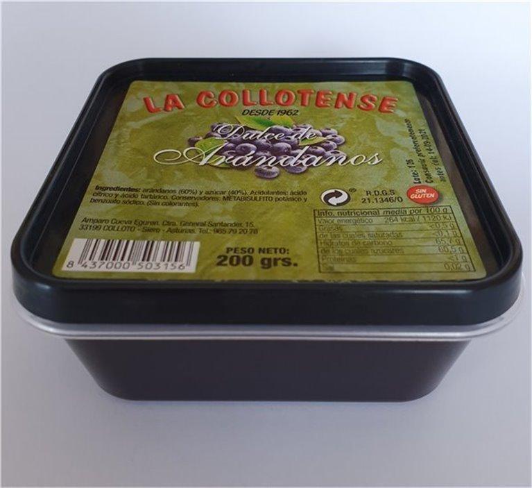 Dulce de arándanos tarrina 200 g